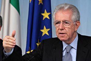 ROMA 20 LUGLIO 2012 CONFERENZA STAMPA AL TERMINE DEL CONSIGLIO DEI MINISTRI NELLA FOTO MARIO MONTI FOTO RAVAGLI/INFOPHOTO