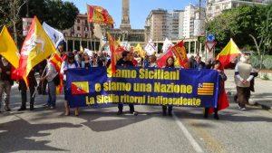 Marcia per l'indipendenza Palermo 30 marzo 2014