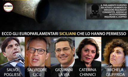 I cinque europarlamentari siciliani 'innamorati' della Volkswagen... E sull'olio tunisino che faranno?