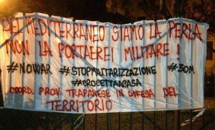 Marsala, manifestazione contro la guerra. E il 30 Marzo tutti in piazza a Palermo contro gli ascari guerrafondai