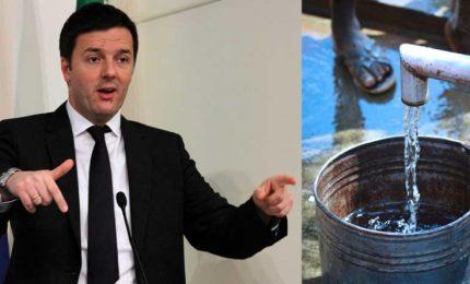 Acqua ad Agrigento, l'unica provincia d'Italia che si sta opponendo al Governo Renzi. Ma è così?