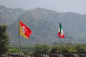 Bandiera Sicilia-Italia