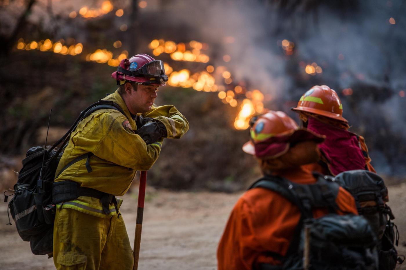 Gli incendi in California: sono stati i forestali siciliani in mission impossible?