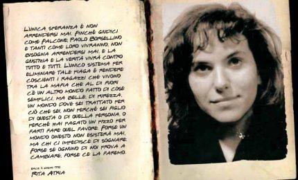 Oggi anniversario della morte di Rita Atria, la ragazza che disse no ai mafiosi