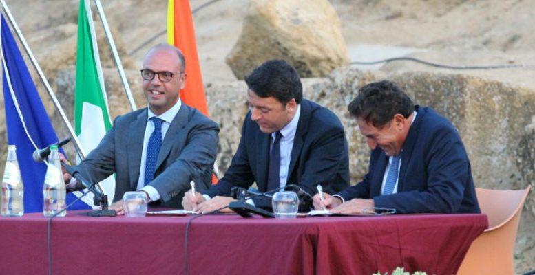 Olè: nel 'Patto per la Sicilia' Renzi e Crocetta hanno dimenticato il rischio sismico…