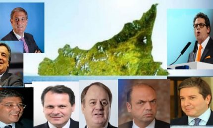 I vecchi politici siciliani che hanno affondato la Sicilia: mandiamoli tutti a casa. Per sempre