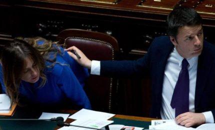 Il Senato di Renzi (e della ministra Boschi) e il Senato di Caracalla