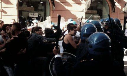 Note a margine delle manganellate rifilate agli studenti di Palermo
