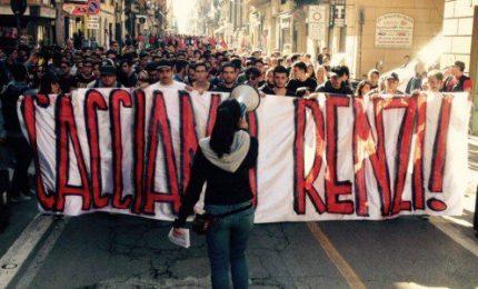 Appello agli studenti Siciliani che Renzi fa manganellare ogni volta che viene nella nostra Isola