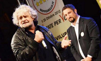 """Regionali, Grillo: """"Referendum per cacciare la vecchia politica"""""""
