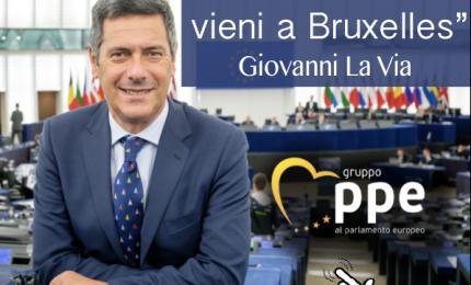 """Giovanni La Via: """"Dimmi la tua"""". Lo accontentiamo? Onorevole, ci parli del suo sì al CETA e dell'agricoltura siciliana..."""