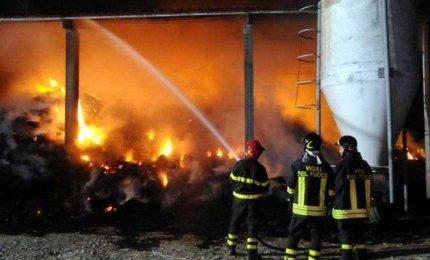 Incendi in Sicilia: a fuoco anche un importante centro per la raccolta differenziata dei rifiuti