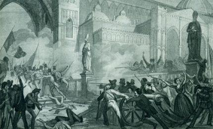 """La Sicilia ricorda i 151 anni della rivolta del """"Sette e mezzo"""" negata dagli storici prezzolati"""
