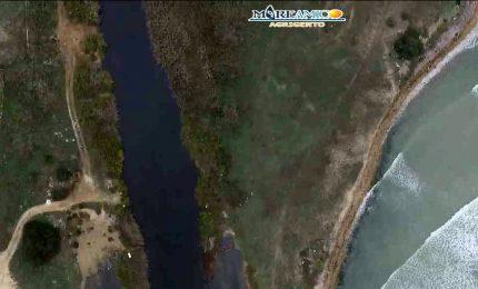 Nell'Agrigentino ci sono frantoi che scaricano nel fiume Naro gli scarti della molitura (VIDEO)