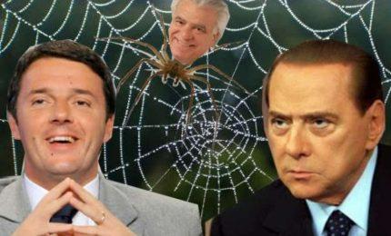 Berlusconi, Renzi e Verdini: se con Musumeci vinceranno in Sicilia poi si prenderanno l'Italia
