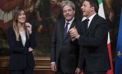 Renzi, Gentiloni e la Boschi: hanno affamato la Sicilia, ora vogliono i voti dei Siciliani!