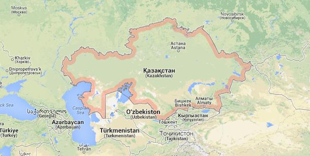 Una nave nel porto di Pozzallo sta scaricando grano del Kazakistan!