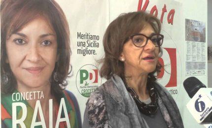 PD, Concetta Raia 'bastona' Faraone e Cracolici