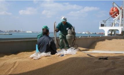 Olè: un'altra nave carica di grano del Kazakistan sta per arrivare a Pozzallo!