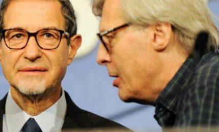 Mozione di censura dei grillini all'Ars: Vittorio Sgarbi a casa