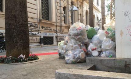 L'immondizia sommerge Palermo: le denunce dei grillini e il servizio del TG di SKY