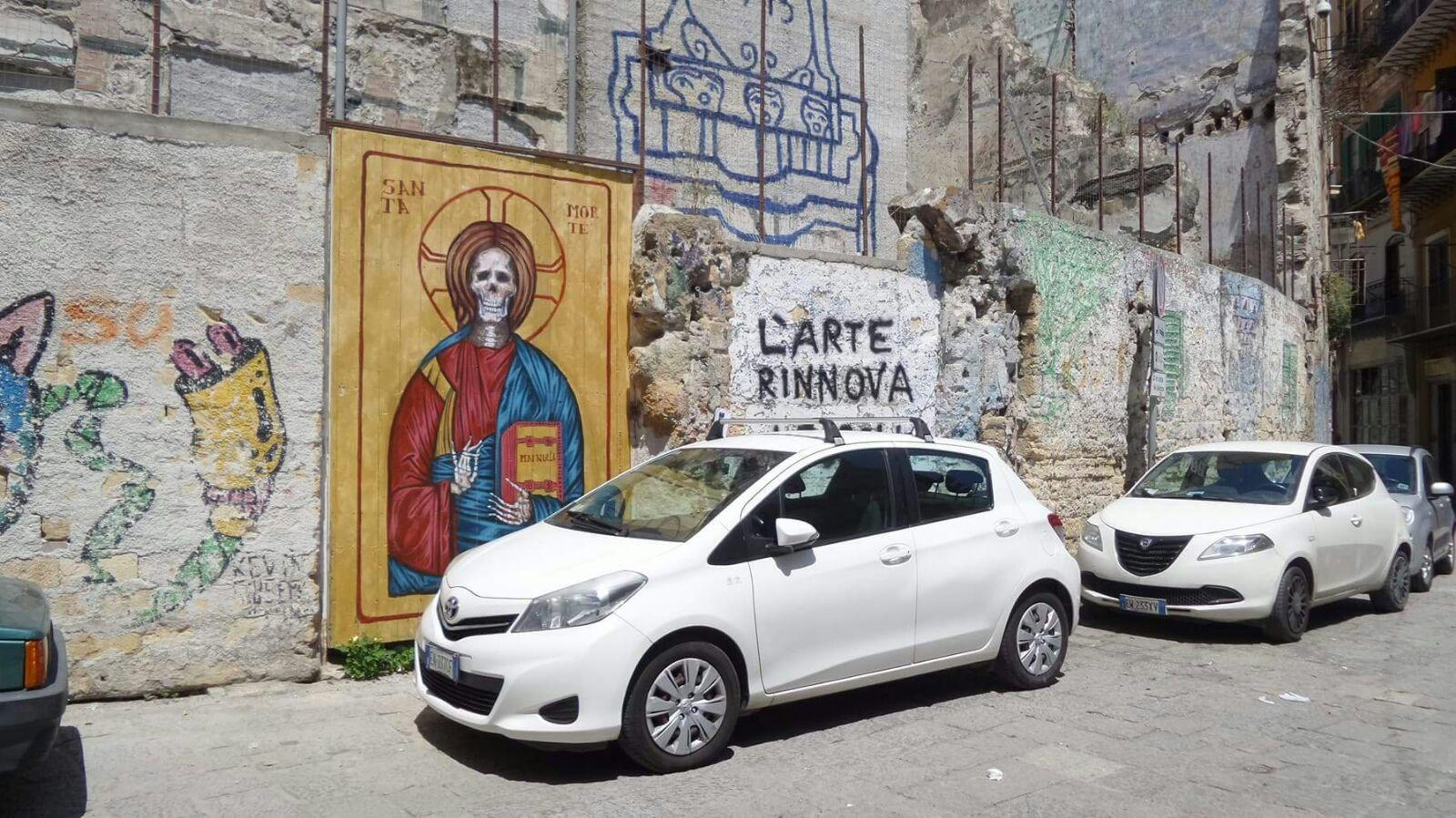 E così 'antimafia' e 'sinistra' di Palermo si 'manciaru' pure la Vucciria. Ma un dipinto…