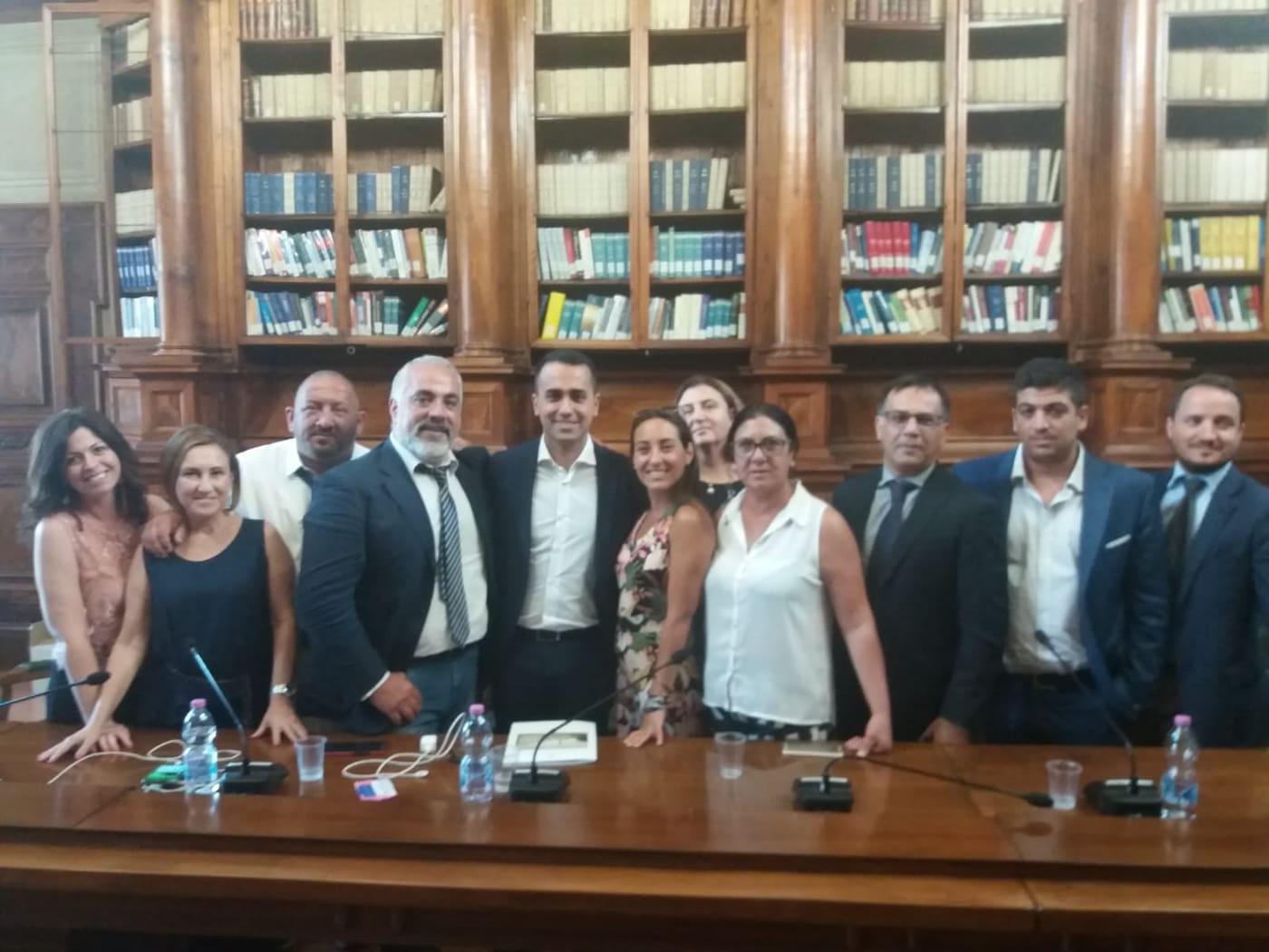 Luigi Di Maio verrà in Sicilia per affrontare le questioni Formazione e Sportelli
