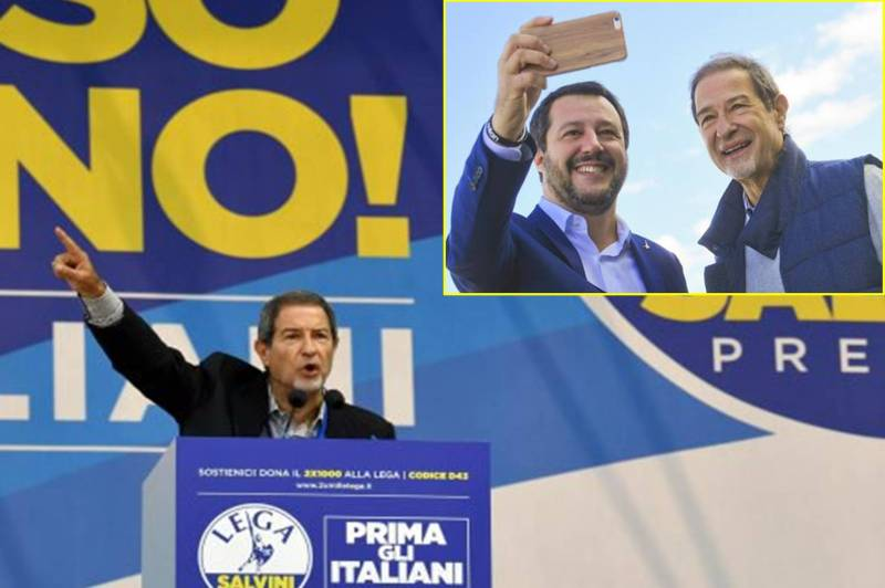 Per fuggire da Forza Italia prima Musumeci ha cercato i grillini, poi ha trovato Salvini/ MATTINALE 91