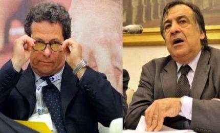 Palermo, Leoluca Orlando e Gianfranco Miccichè insieme tra immondizia e Tram/ MATTINALE 124