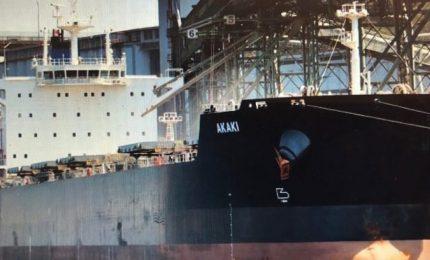 Stasera in arrivo al porto di Bari 50 mila tonnellate di grano duro canadese!