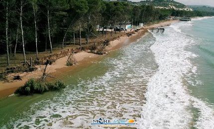 Eraclea Minoa: e la spiaggia finì! E il Governo Musumeci che la stava salvando? Erano balle