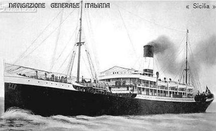 """La storia del piroscafo """"Sicilia"""", il primo a raggiungere l'America del Nord nel 1853, in 26 giorni!"""