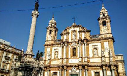 I lavoratori disoccupati della Formazione occupano la chiesa di San Domenico a Palermo