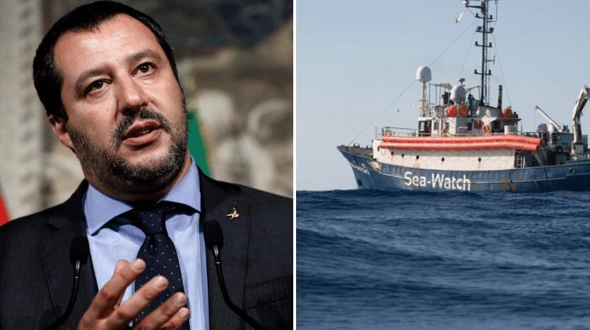 'Caso' Sea Watch: il Ministro Salvini fa politica sulla pelle di 47 migranti/ MATTINALE 265