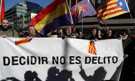 Processo agli indipendentisti della Catalogna, Siciliani Liberi: basta con gli oltraggi!