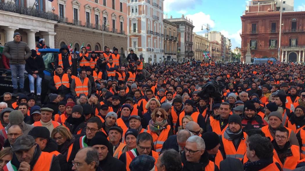 Il 14 febbraio agricoltori pugliesi in piazza a Roma per l'olio d'oliva. E la Sicilia?