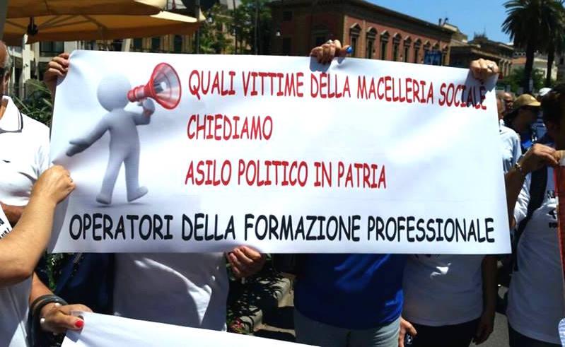 Formazione, Gli Irriducibili e i COBAS a Roma al Ministero della Giustizia