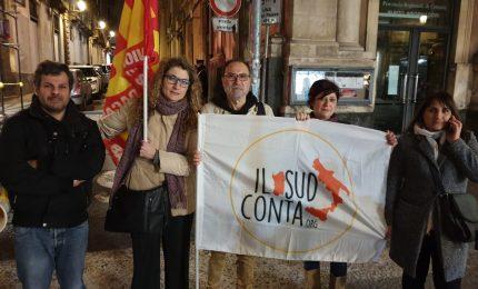 """Catania, manifestazione dei docenti contro la """"Secessione dei ricchi"""""""
