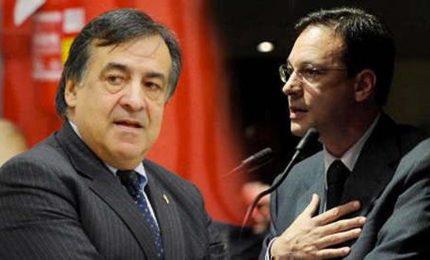 Sono arrivati gli 'smemorati' Giuseppe Lupo e Leoluca Orlando, del PD, il partito che ha distrutto la Sicilia