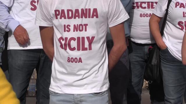"""Curiosità: a che titolo sono state sequestrate le magliette """"Padania in not Sicily""""?"""