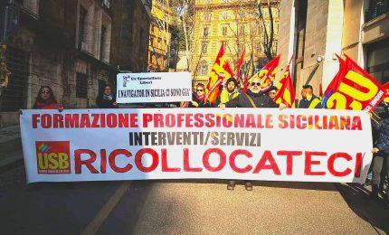 Vertenza Formazione professionale siciliana: dal 1° Maggio ecco la mobilitazione dell'USB