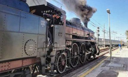 Per tre giorni sulla tratta Catania-Caltagirone tornano i treni storici
