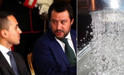 Il Governo di grillini e leghisti sta consegnando l'acqua ai privati sul modello Renzi-Gentiloni?/ MATTINALE 311