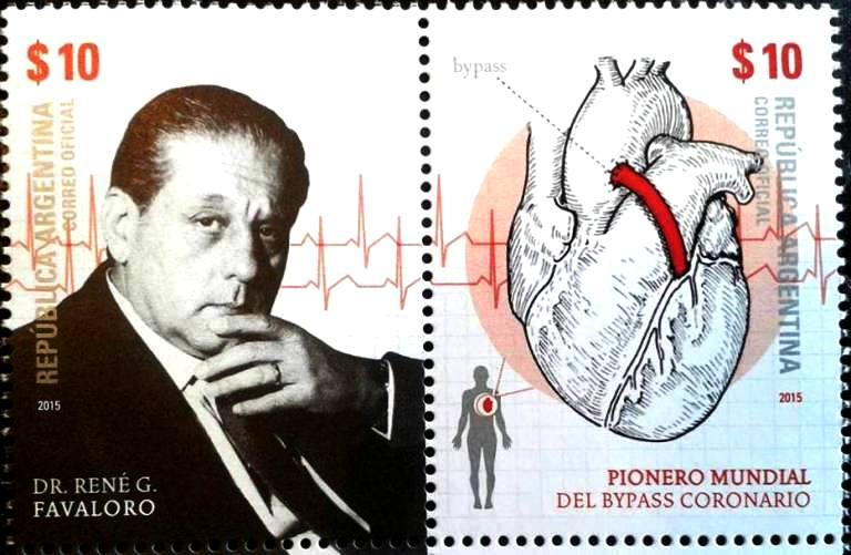 Oggi ricordiamo un grande argentino-eoliano-siciliano: René Gerónimo Favaloro, l'inventore del bypass aortocoronarico