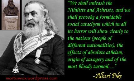 Schegge di storia 15/ L'inquietante figura di Albert Pike, il 'Papa della massoneria' che nel 1871 scriveva di tre guerre mondiali...