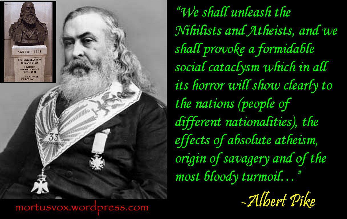 Schegge di storia 15/ L'inquietante figura di Albert Pike, il 'Papa della massoneria' che nel 1871 scriveva di tre guerre mondiali…