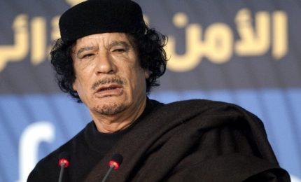 Prima hanno ammazzato Gheddafi e oggi, chi l'ha ammazzato, dice che in Libia c'è il caos...