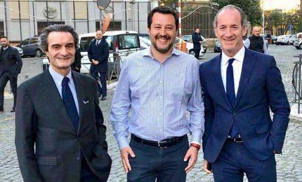 Salvini, Fontana, Zaia: ma chisti 'i runn'arrivano? Sono gli eredi degli Unni?