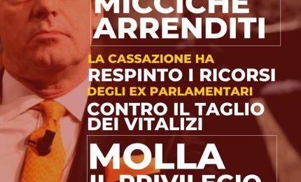 La Sicilia ha un 'primato': è l'unica Regione italiana a non aver tagliato i vitalizi agli ex parlamentari!