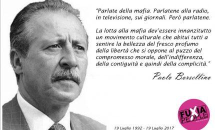 La Commissione Antimafia di Roma renderà noti tutti i segreti di mafia. A cominciare dalle audizioni di Paolo Borsellino